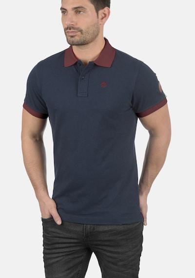 BLEND Poloshirt 'Ralf' in schwarz: Frontalansicht