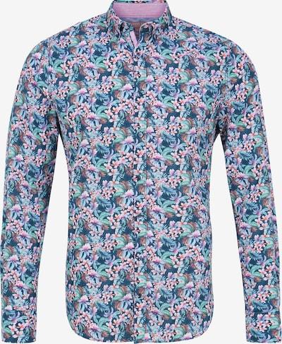 COLOURS & SONS Hemd 'ISAAC' in blau / pastelllila / mischfarben, Produktansicht