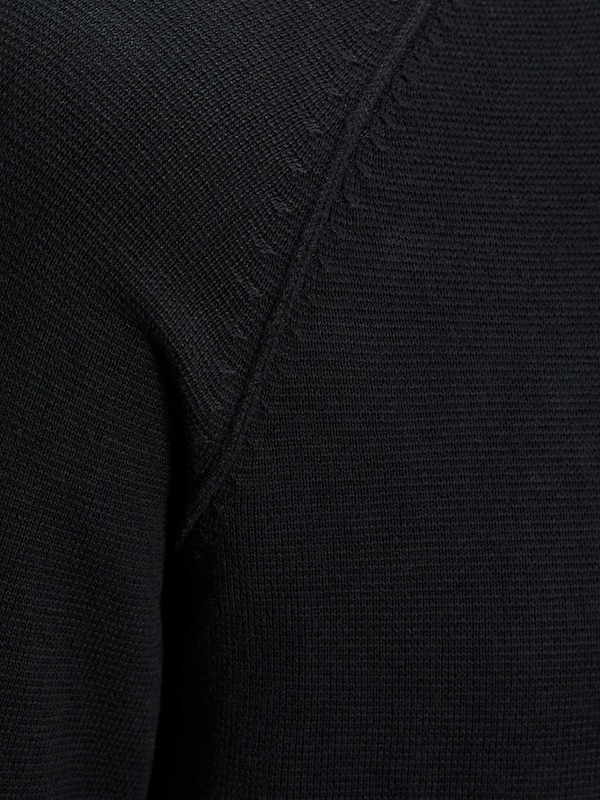 JACK & JONES Pullover Waffel-Webung, Raglan