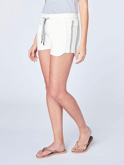 CHIEMSEE Shorts in weiß, Modelansicht