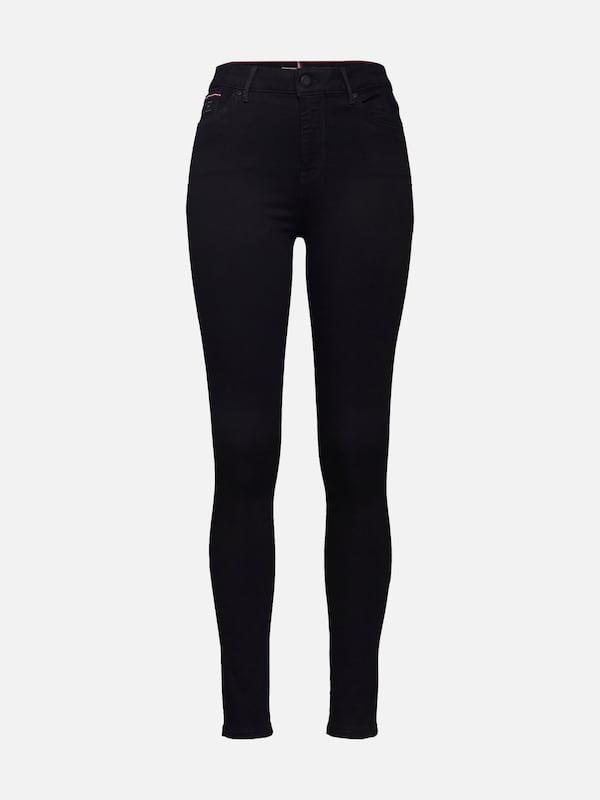 4c0512d7b6 TOMMY HILFIGER Jeans 'TH ESS HARLEM ULR SKINNY A ANI' in black denim |  ABOUT YOU
