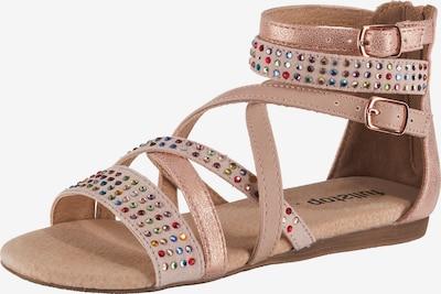 fullstop. Sandalen in hellbraun, Produktansicht