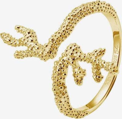 XENOX Fingerring 'Deep sea' in gold, Produktansicht