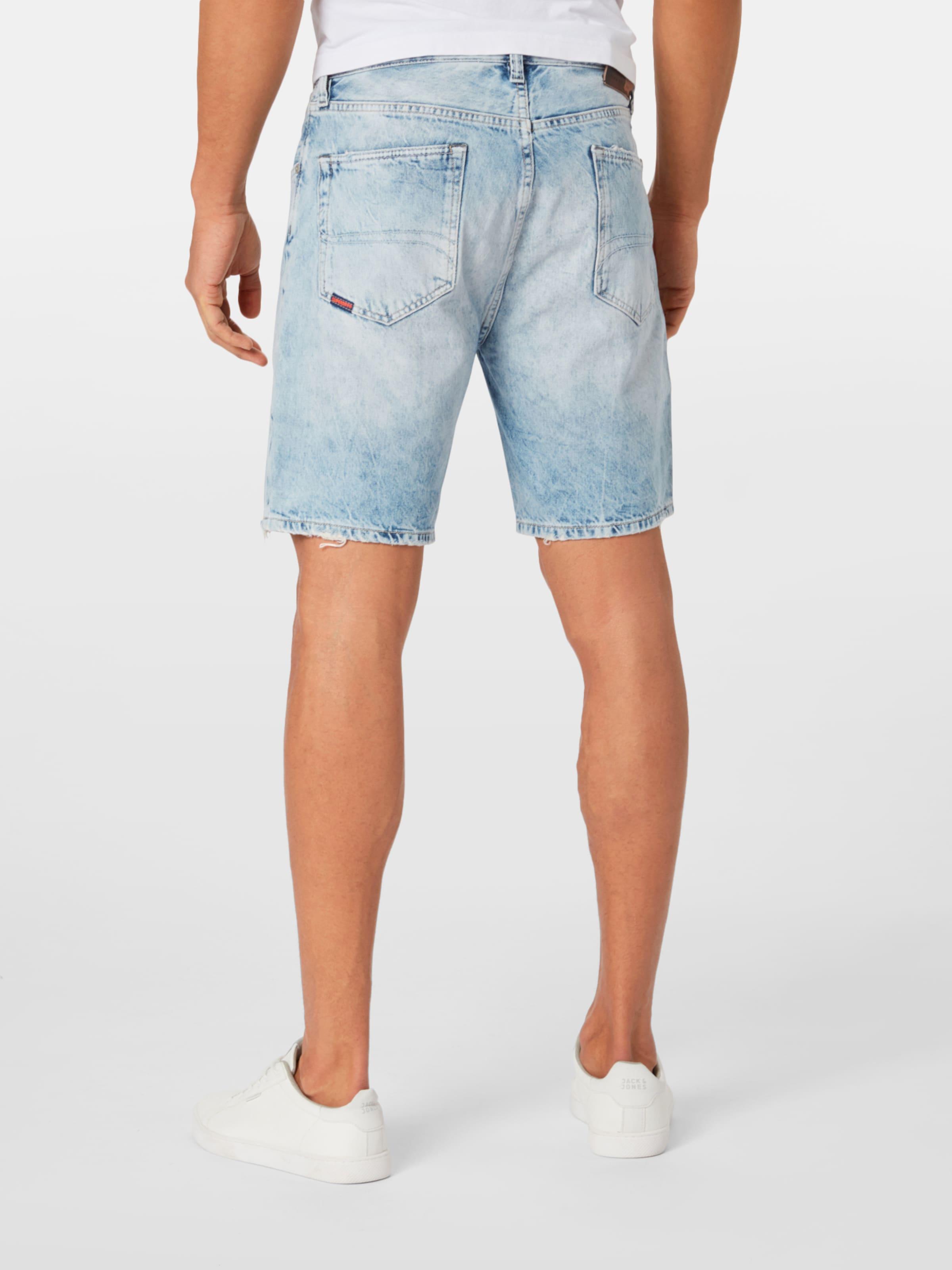 Jeansshorts In Taper' 'conor Superdry Blue Denim TK1cJlF3