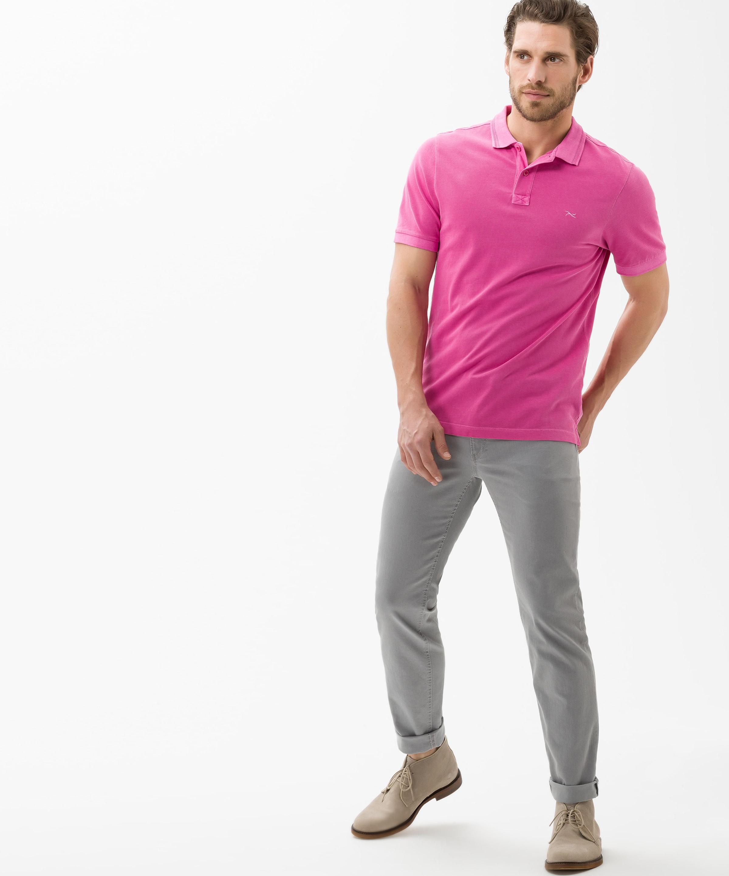 Brax Poloshirt In Brax Neonpink 'pele' Poloshirt Poloshirt 'pele' 'pele' In Brax Neonpink In BerCdxo