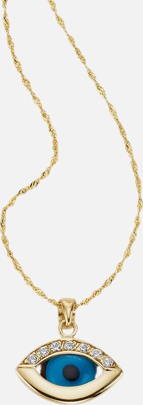 FIRETTI Halsschmuck: Halskette »Das Auge Gottes«