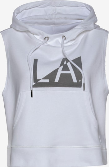 LASCANA Sweatshirt in White, Item view