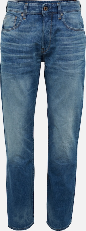 G-Star RAW Jeans '3301 Loose' in blue denim, Produktansicht
