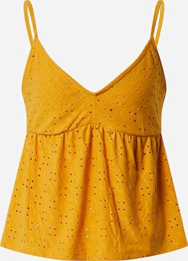 VILA Top 'KAWA' in gelb, Produktansicht