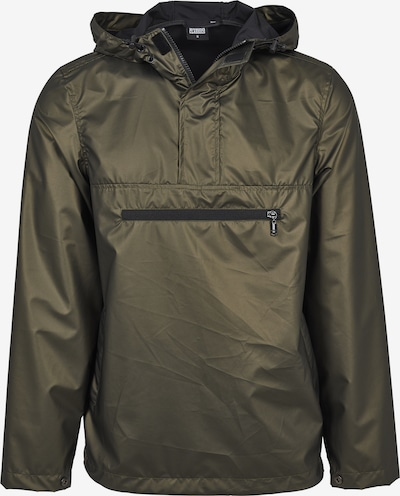 Urban Classics Light Jacket in oliv: Frontalansicht