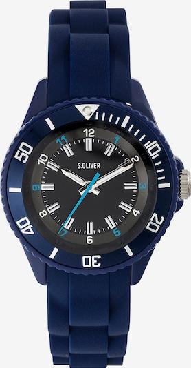 s.Oliver Uhr 'SO-3638-PQ' in blau / schwarz, Produktansicht