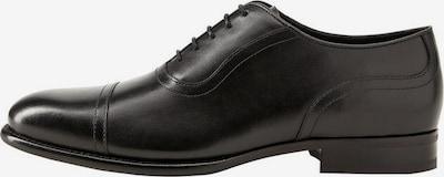 MANGO MAN Schnürschuh in schwarz, Produktansicht
