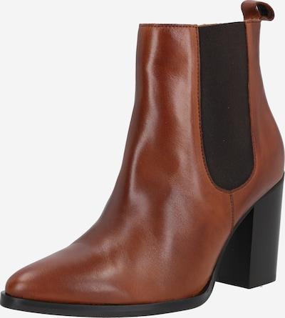 Bianco Chelsea boots 'Biajudia' in de kleur Cognac / Zwart, Productweergave