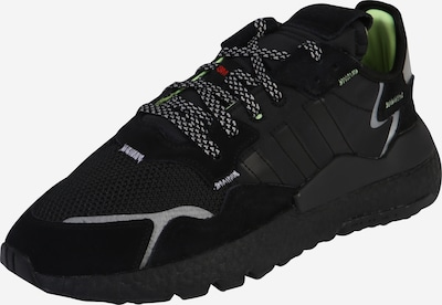 ADIDAS ORIGINALS Sneaker 'Nite Jogger' in grau / neongrün / schwarz, Produktansicht