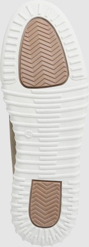 BULLBOXER Sneaker mit Snakeskin-Prägung
