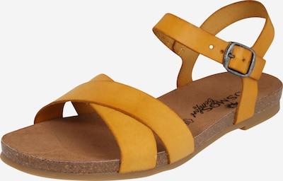 COSMOS COMFORT Sandales à lanières en jaune d'or, Vue avec produit