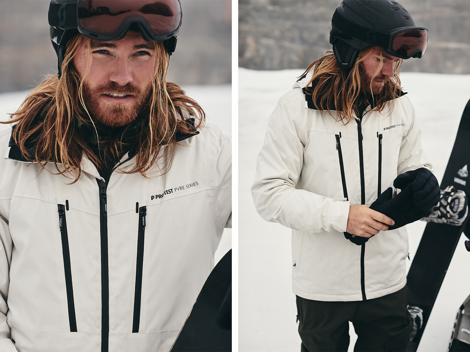 Julius A.  - Mixed Snowboard Look