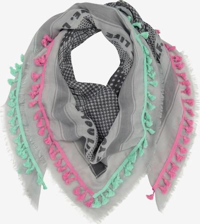 CODELLO Tuch in grau / grün / pink, Produktansicht