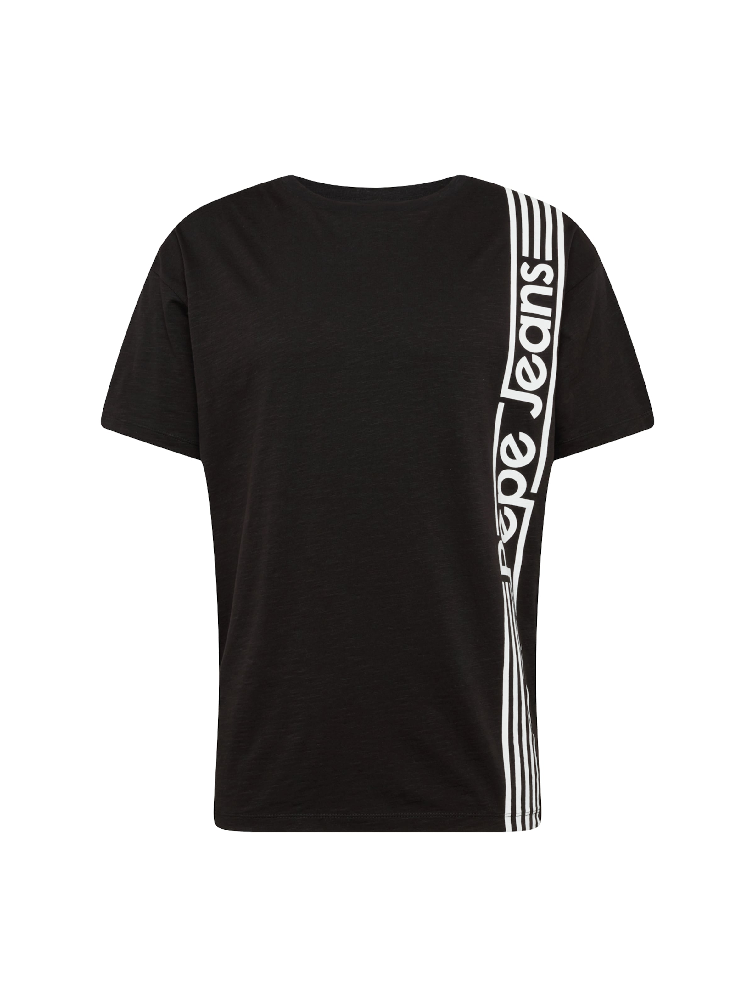 Pepe SchwarzWeiß In Jeans Shirt 'durham' 3TF1clKJ