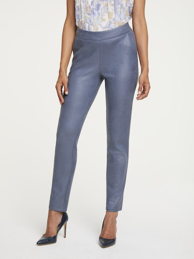 heine Pantalon en bleu, Vue avec modèle