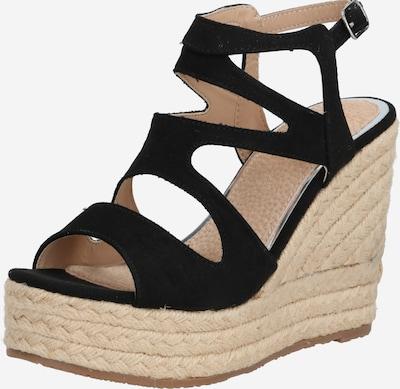 MARIAMARE Sandale 'WICCA' in beige / schwarz, Produktansicht