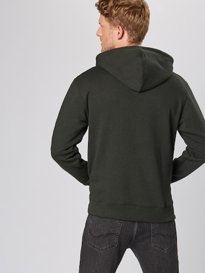 JACK & JONES Sweat-shirt 'SOFT' en vert foncé: Vue de dos