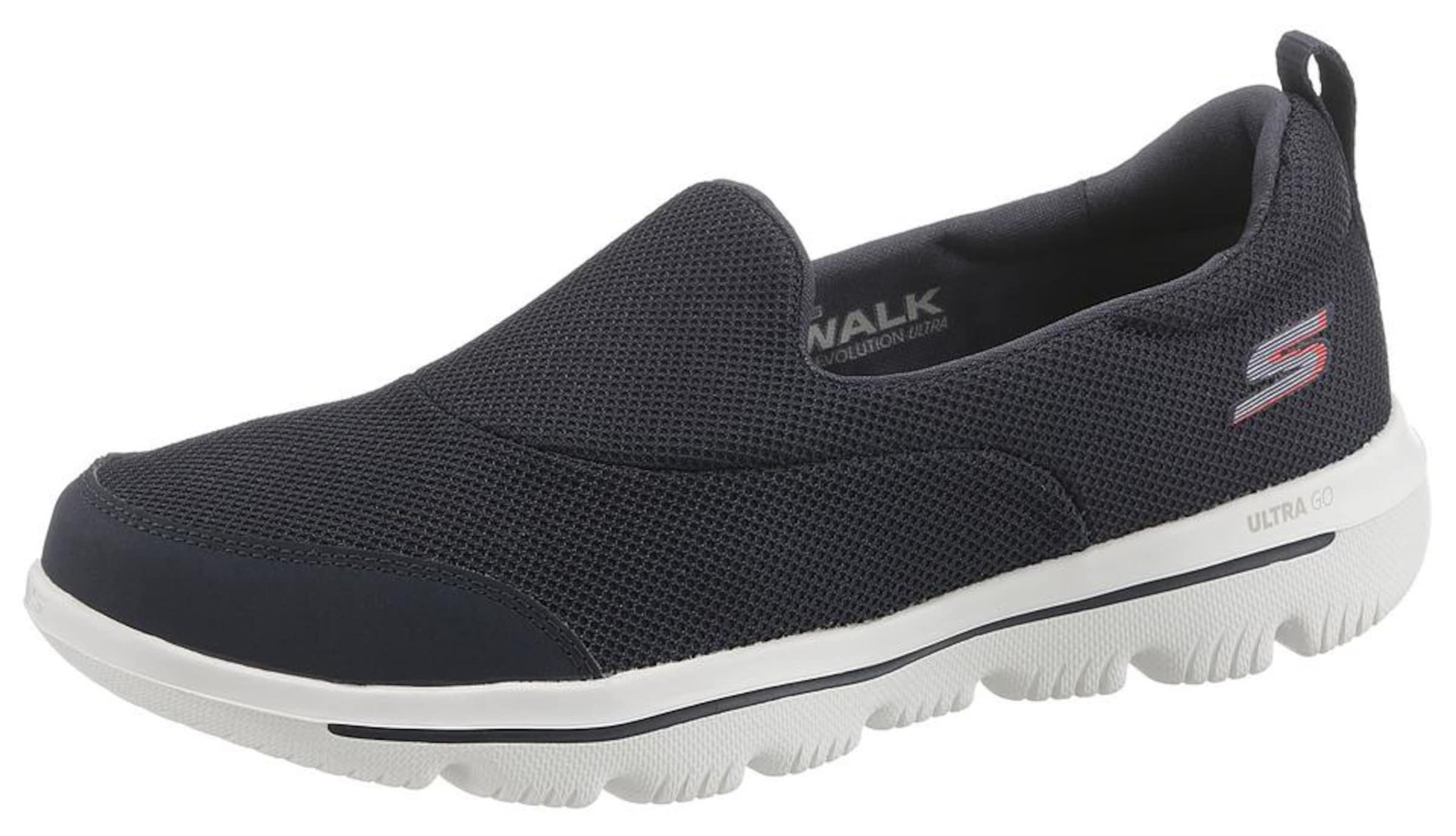 'go Skechers Evolution Walk Sneaker In Navy UltraReach' 5Lq3cj4AR