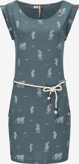 Ragwear Jerseykleid ' Tag Tiger ' in blaumeliert, Produktansicht