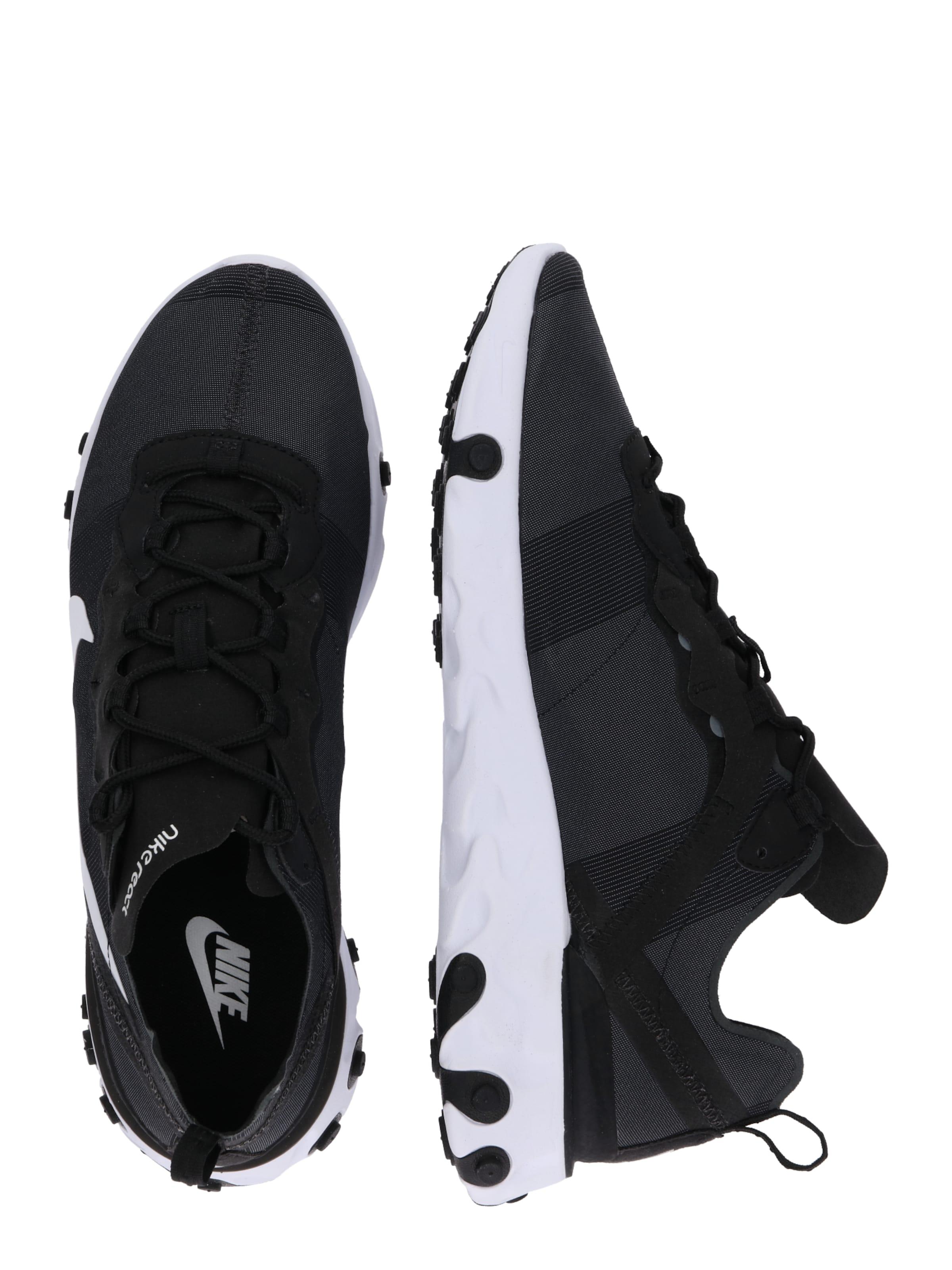 Sportswear Sneaker 55' In Nike SchwarzWeiß 'nike React VpSUGLqjzM