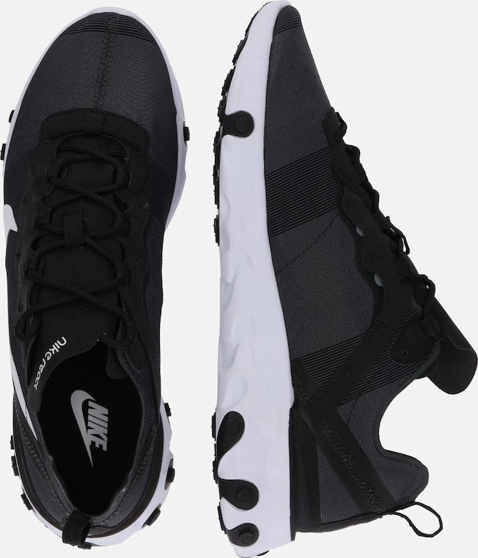 React Baskets Basses NoirBlanc Sportswear Element En Nike 'nike 55' PkXw8On0