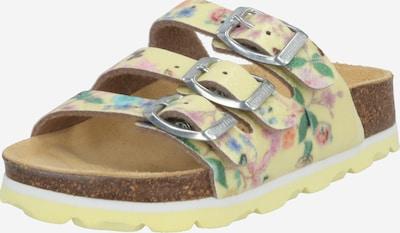 SUPERFIT Sandály - žlutá / mix barev, Produkt