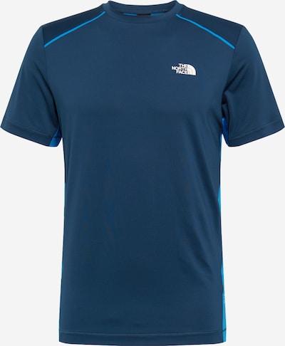 THE NORTH FACE Shirt in blau / hellblau / weiß, Produktansicht