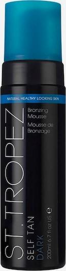 St.Tropez 'Self Tan Dark Bronzing Mousse', Selbstbräuner in himmelblau / schwarz, Produktansicht