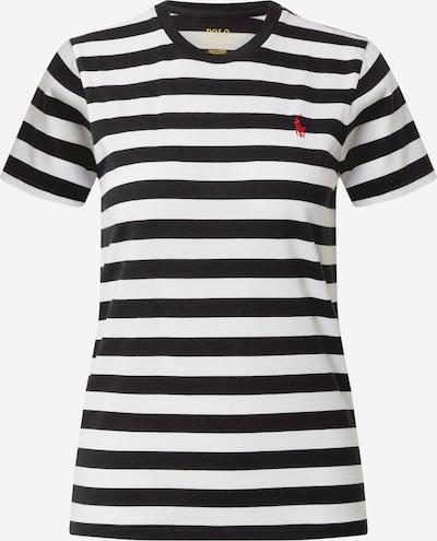 POLO RALPH LAUREN T-Shirt in rot / schwarz / weiß, Produktansicht