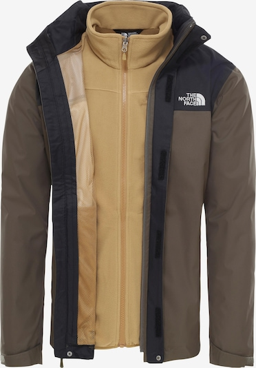 THE NORTH FACE Jacke 'Evolve II' in beige / taupe, Produktansicht