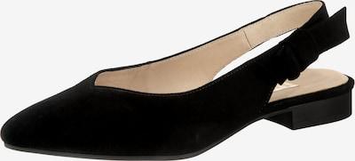 GABOR Sling-Ballerinas in schwarz, Produktansicht