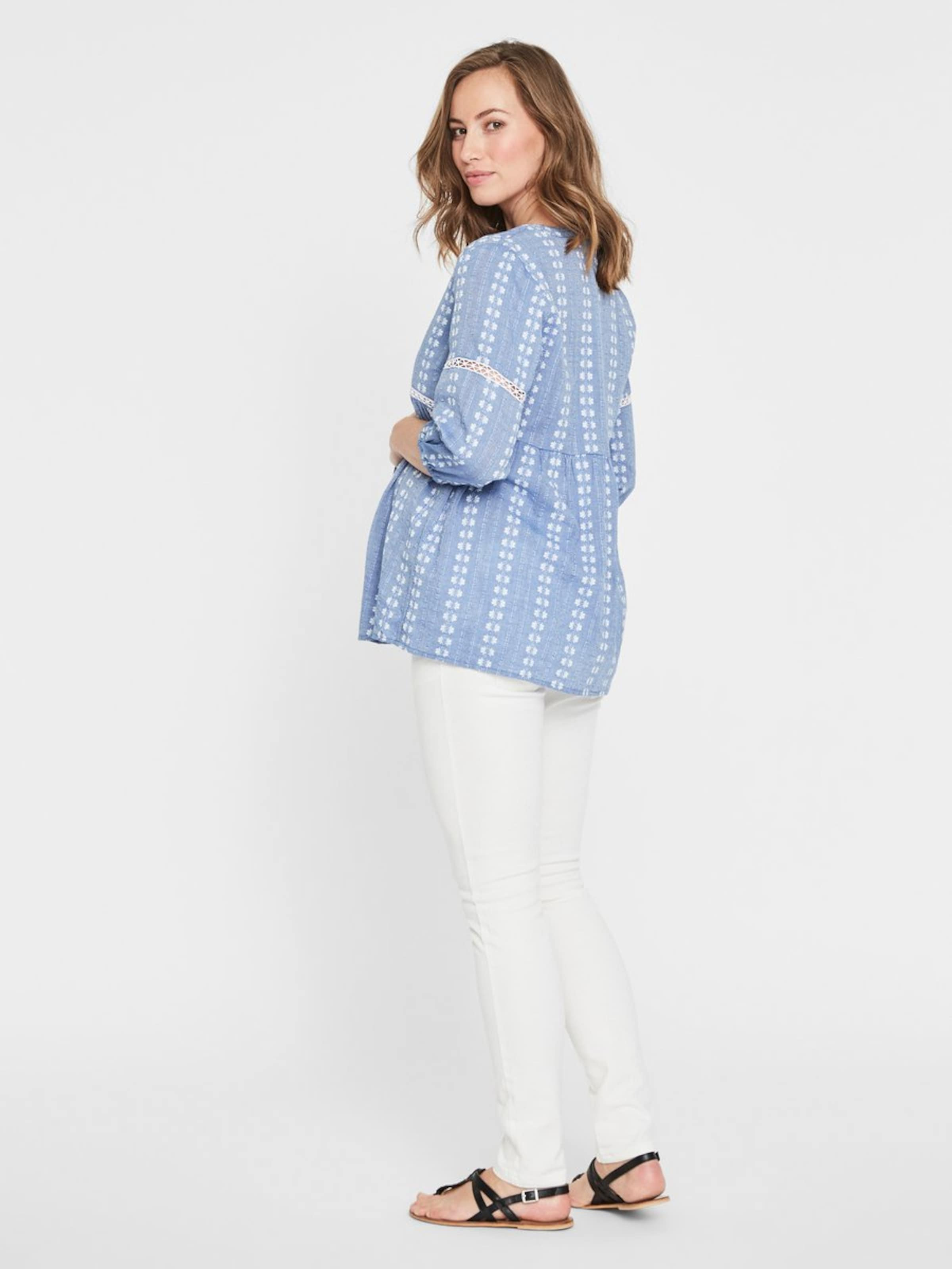 Bleu shirt T En Mamalicious Clair wPuZkOXTil