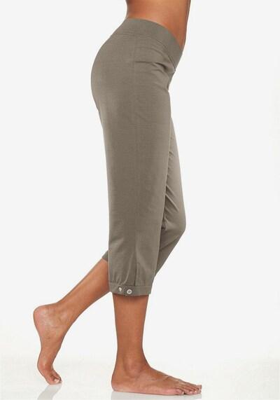 H.I.S Capri-Leggings in khaki, Modelansicht