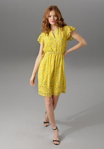 Aniston CASUAL Sommerkleid in gelb, Modelansicht