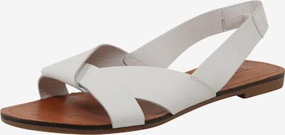 Sandale cu baretă 'Tia' VAGABOND SHOEMAKERS pe maro / alb, Vizualizare produs