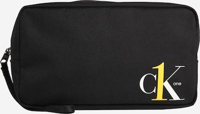 Calvin Klein Jeans Kosmetiktasche in schwarz / weiß, Produktansicht