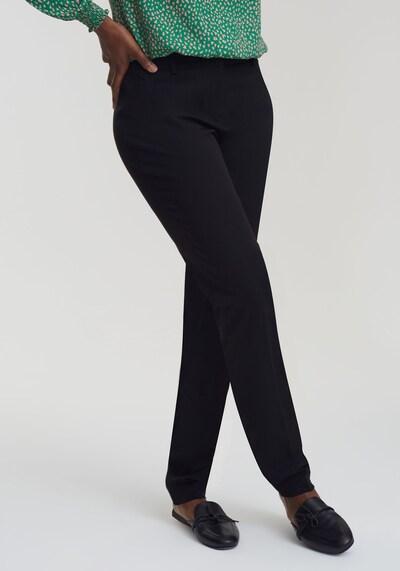 Long Tall Sally Hose für große Frauen in schwarz, Modelansicht