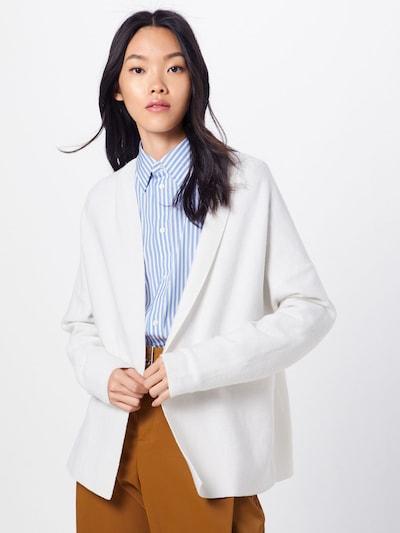 DRYKORN Strickjacke 'Karly' in weiß, Modelansicht