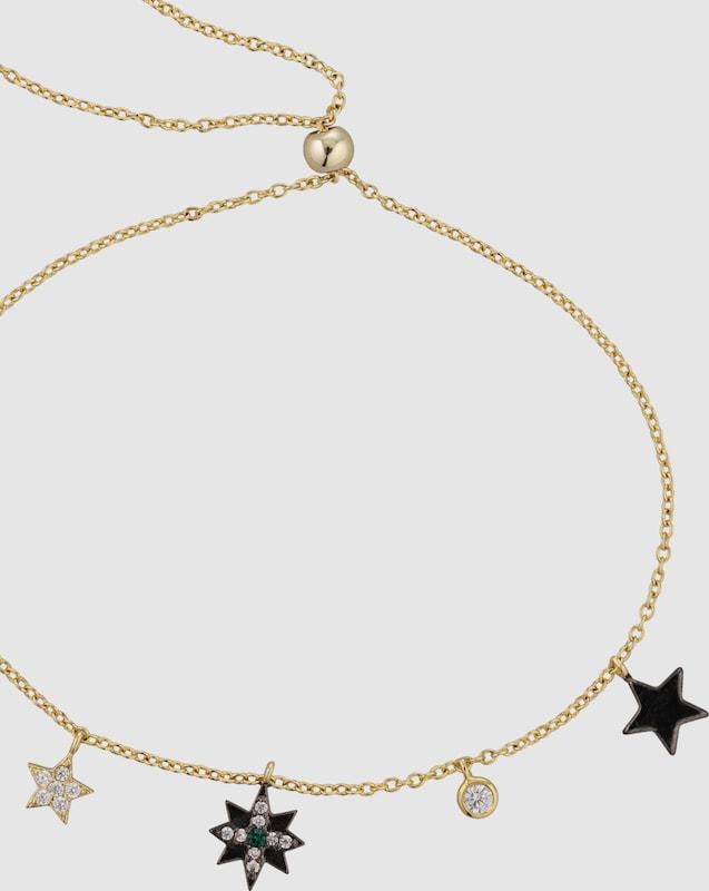 Orelia Armband 'Star & Moon Charm'