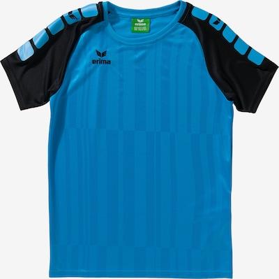 ERIMA Trainingsshirt in hellblau / schwarz, Produktansicht