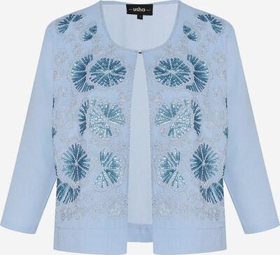 Geacă tricotată Usha pe albastru deschis, Vizualizare produs