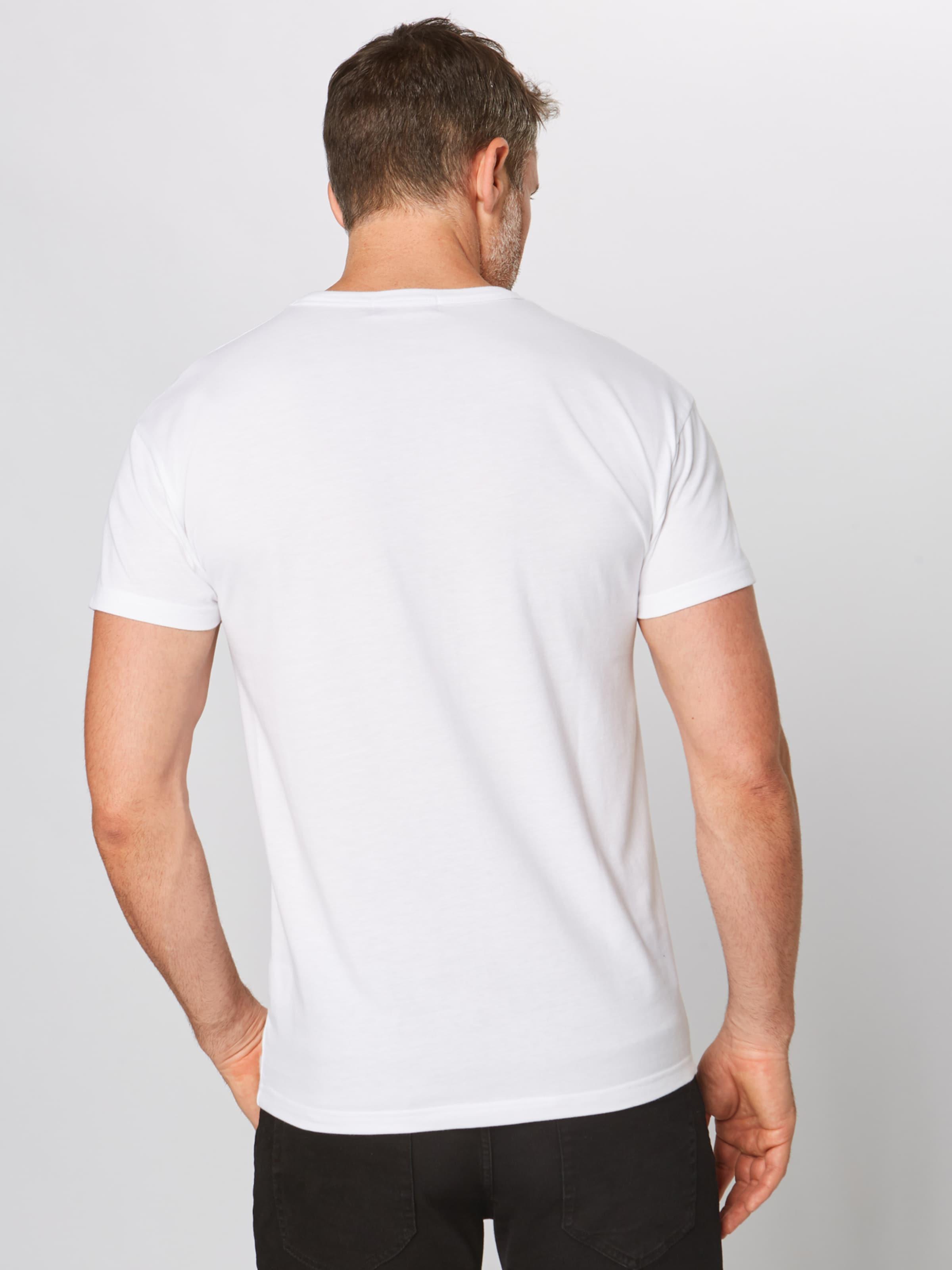 Blanc En Derbe T shirt 'player' FTJ3ulc1K