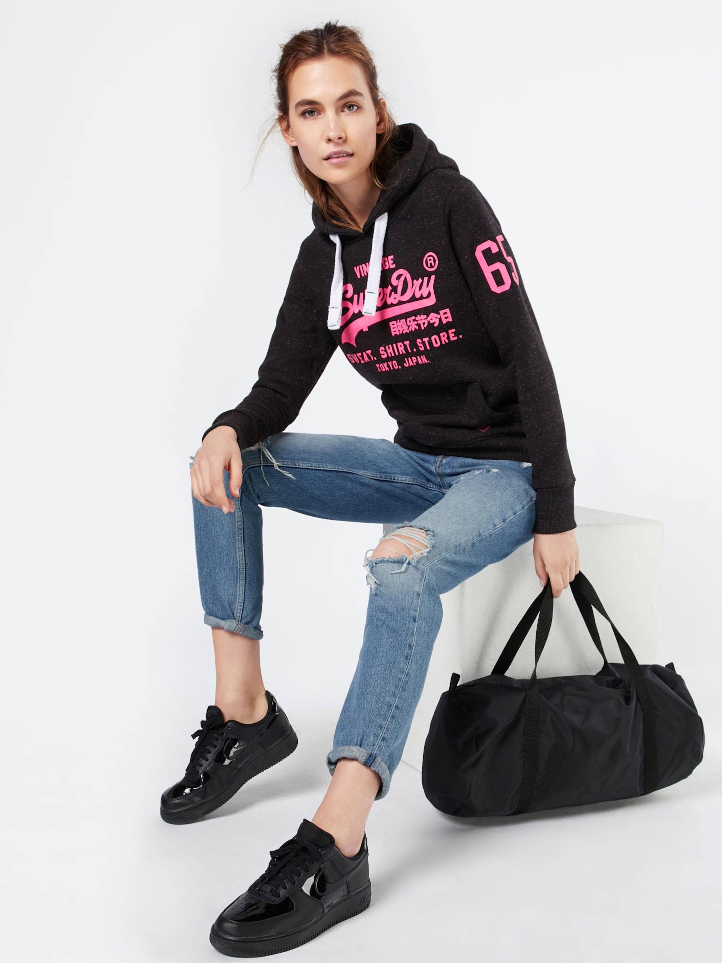 Billig Authentisch Superdry Sweatshirt 'SHIRT SHOP POP' Empfehlen Online Its24dCB