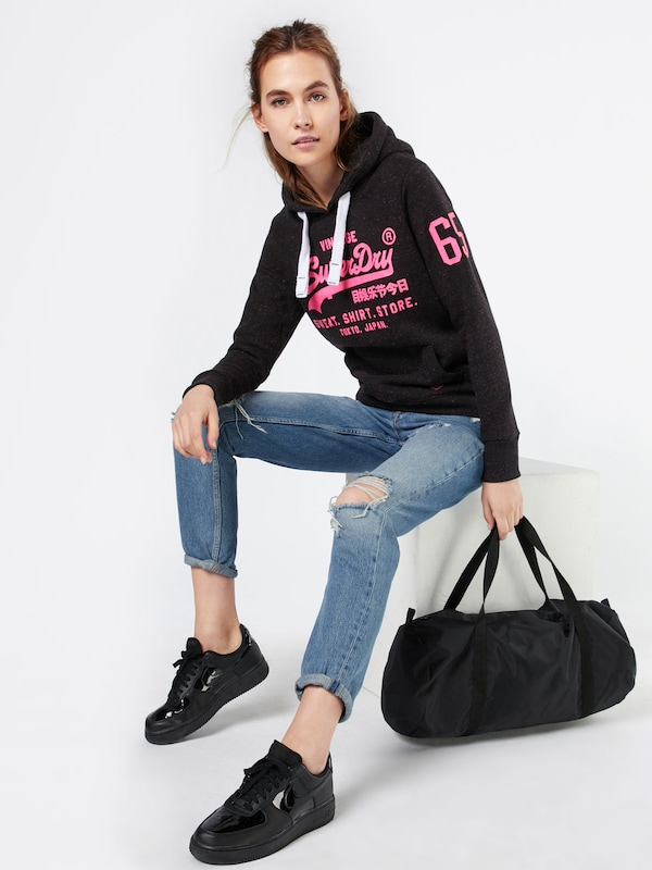 Superdry Sweatshirt 'SHIRT SHOP POP'