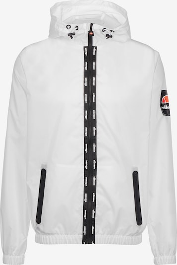 ELLESSE Tussenjas in de kleur Sinaasappel / Zwart / Wit, Productweergave